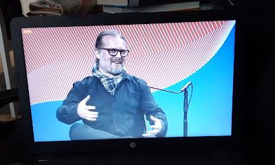 Kauhukirjailija Marko Hautala