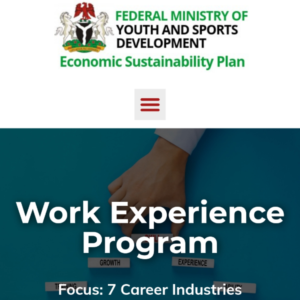 Apply 2021 Federal Ministry of Youths and Sports Development in Nigeria Work Experience Programme