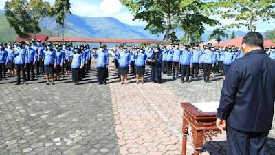 Sebanyak 202 CPNS di lingkungan Pemkab Samosir diangkat jadi PNS