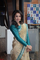 Tejaswi Madivada looks super cute in Saree at V care fund raising event COLORS ~  Exclusive 030.JPG