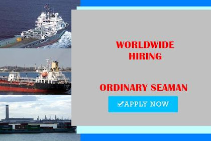 Seaman Jobs Rank Ordinary Seaman