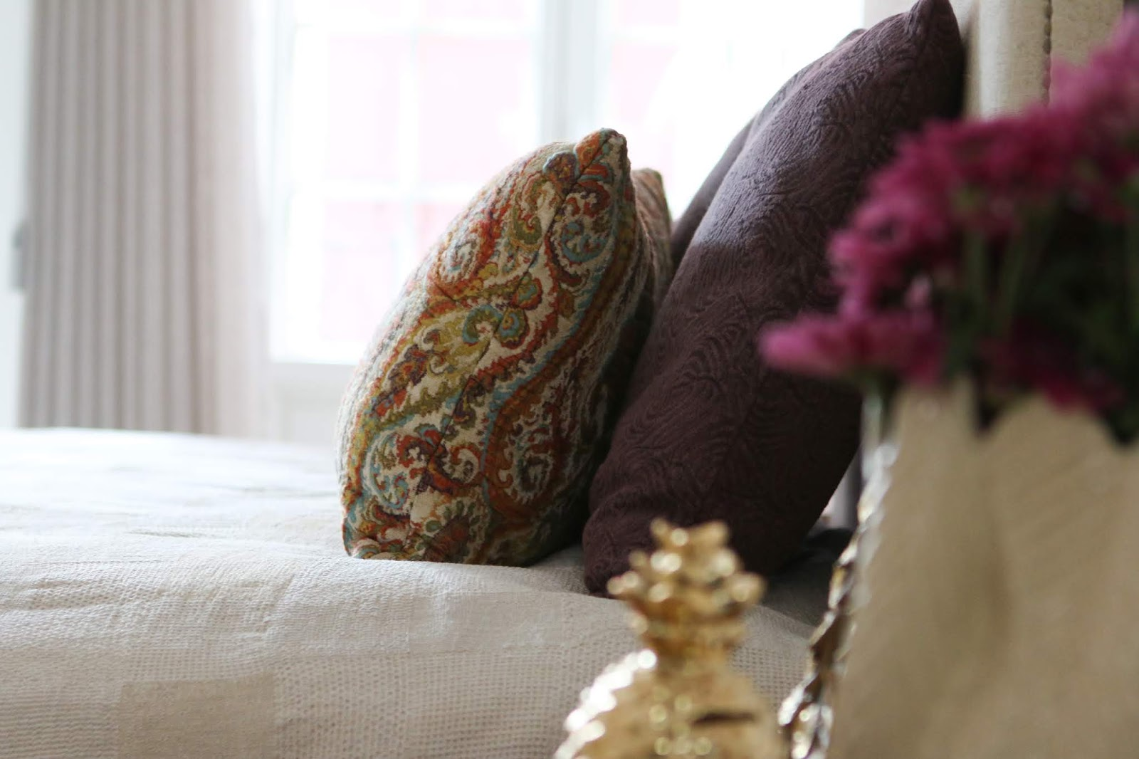 almofadas com padrão e textura decoradora interiores porto