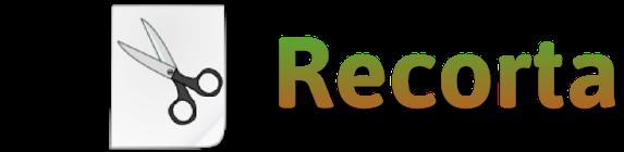 Moldes letras para recortar