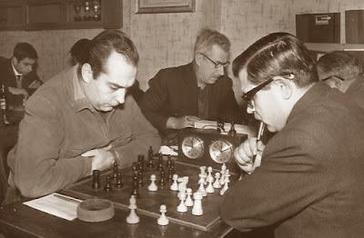 Partida de ajedrez Francisco Puig - Jaume Call Bonet, Campeonato individual de Catalunya 1963/64