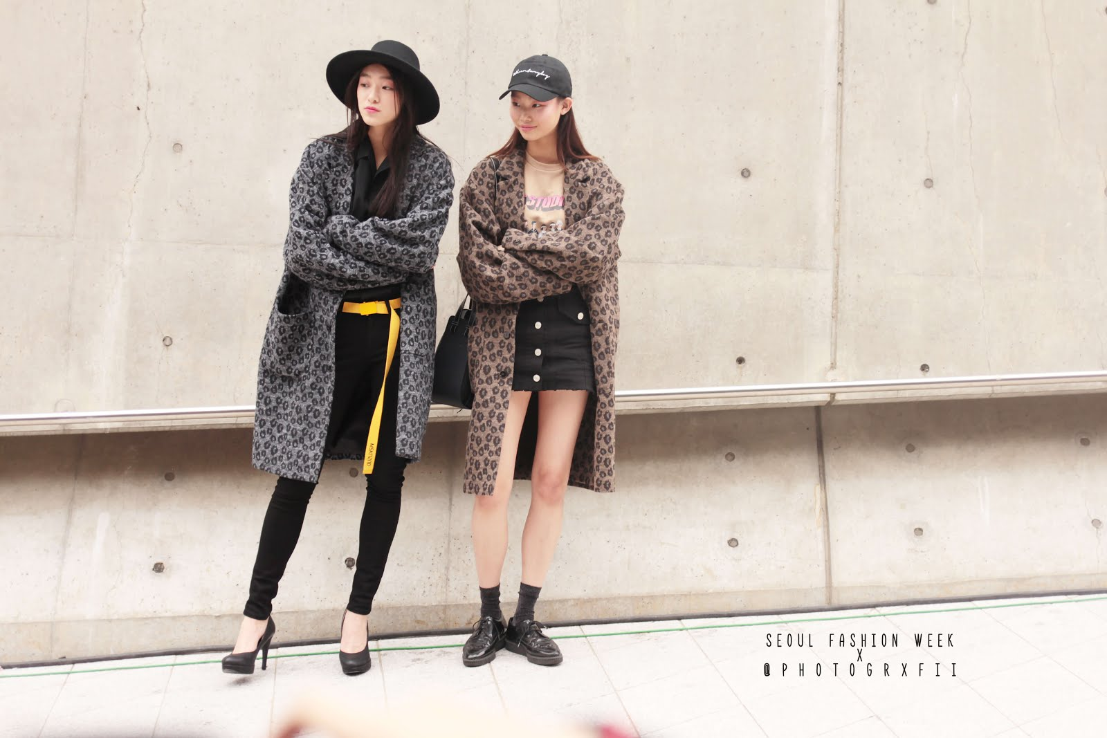 seoul fashion week ss18 models off duty