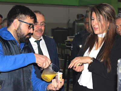 KKTC Başkonsolosu Mendeli, ''Mut Zeytinyağı' nın Aroması Farklı''.