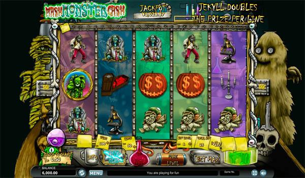 Main Gratis Slot Indonesia - Monster Mash Cash Habanero