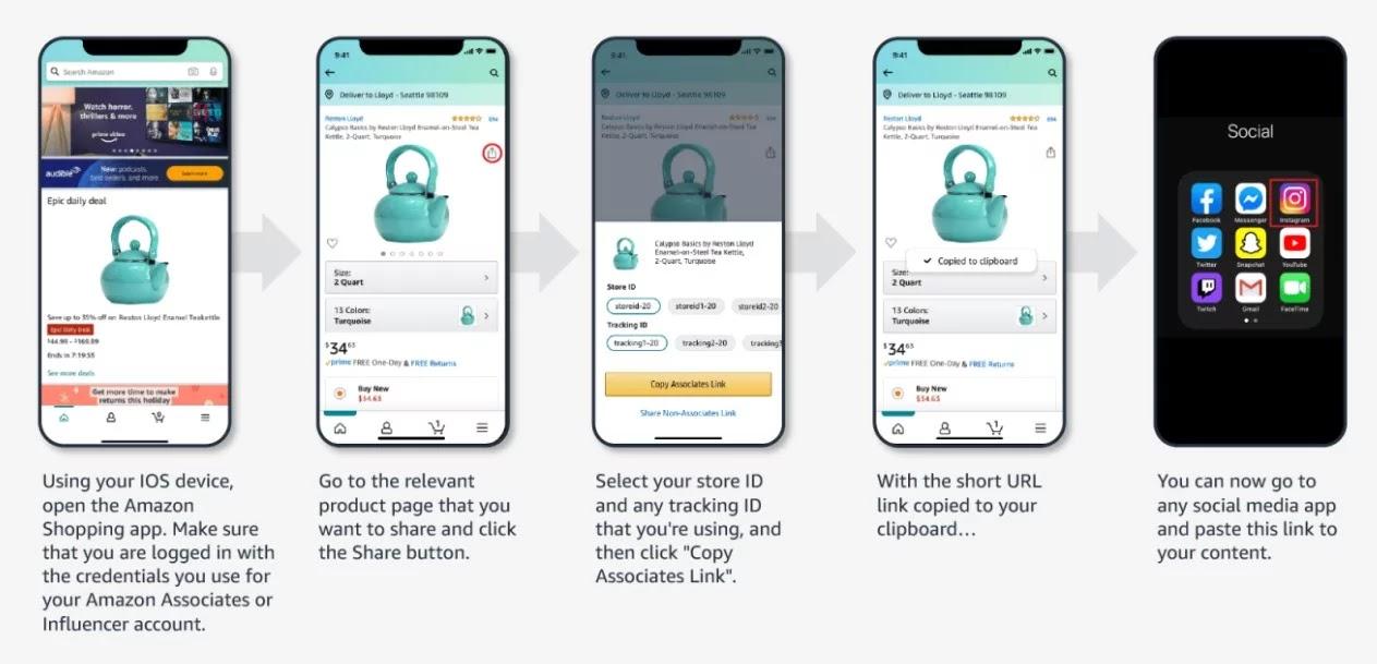Amazon Mobile GetLink