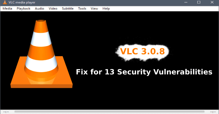 VLC 3.0.8  - VLC 2B3 - VLC 3.0.8 – Fix for 13 Vulnerabilities that can be Exploited Remotely