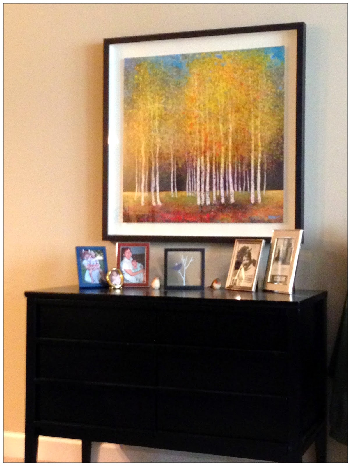 Credenza, Photo Display