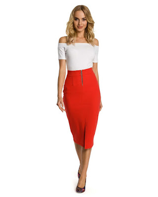jual Midi Skirt Pencil Skirt