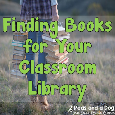Having a well stocked classroom library and novel set collection is essential for any English Language Arts (ELA) teacher. Schools do not always have the budget to provide these resources for their teachers, leaving many teachers to purchase these books. Read this great list of places to start your search for classroom novels from the 2 Peas and a Dog blog.