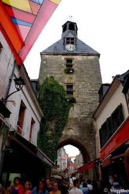 La Torre dell'Orologio del XV secolo, Monumento Storico