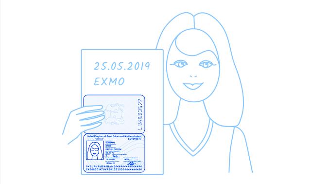 Как пройти верификацию на EXMO