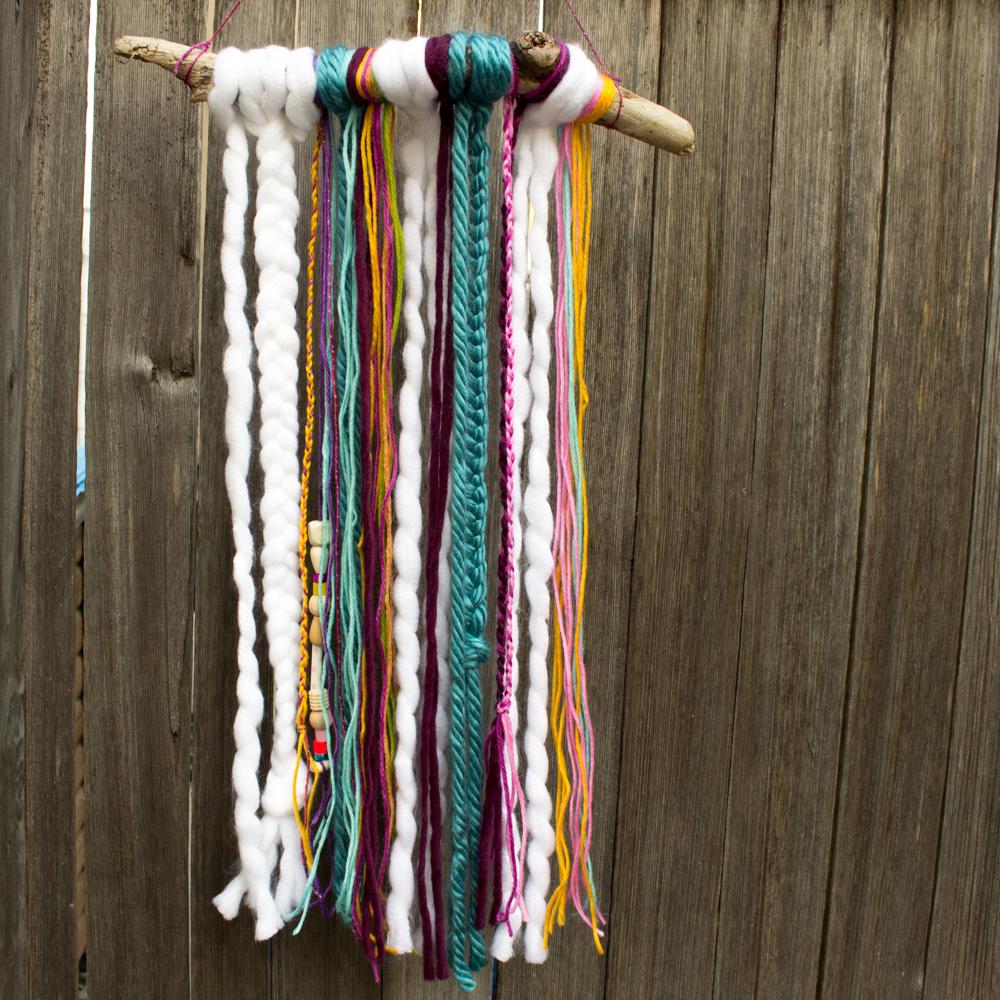 Pink Stripey Socks: Yarn