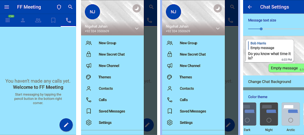 15 year old from Karachi creates texting Android application like Telegram