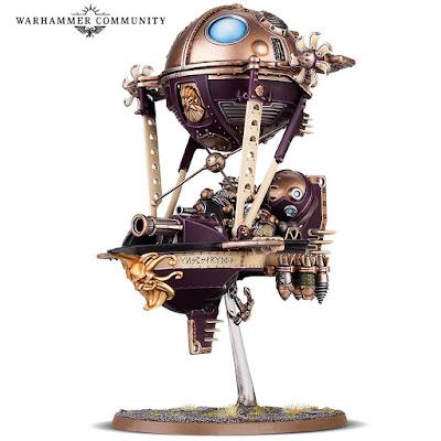 warhammer age of sigmar kharadron gunhauler miniature
