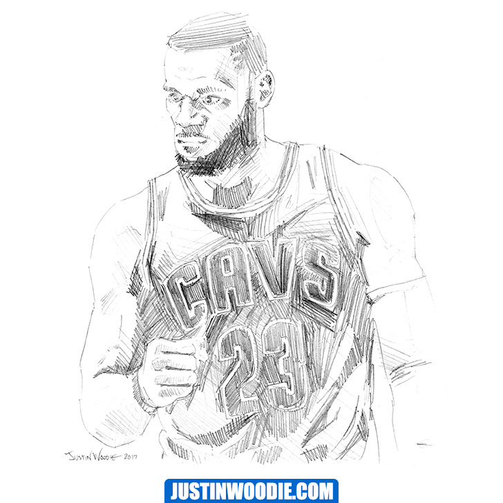 Lebron James Illustration
