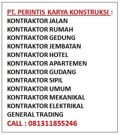 Daftar Kontraktor Bangunan Jakarta