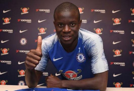 Resmi, N'Golo Kante Perpanjang Kontrak di Chelsea