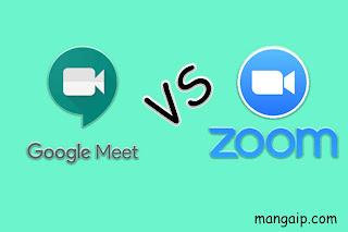 Perbandingan Google Meet vs Zoom Cloud Meeting, Mana Yang Unggul?