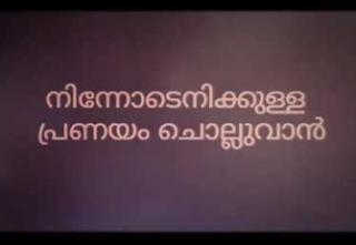 Ninnodenikkulla pranayam song lyrics