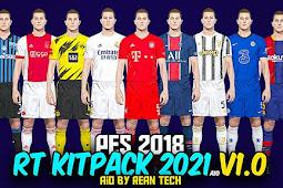 RT Kitpack Season 2020/2021 For - PES 2018