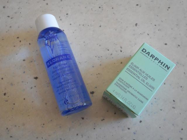 Klorane Eau Demaquillant and Darphin Tangerine, Mandarine Aromatic Care - Organic