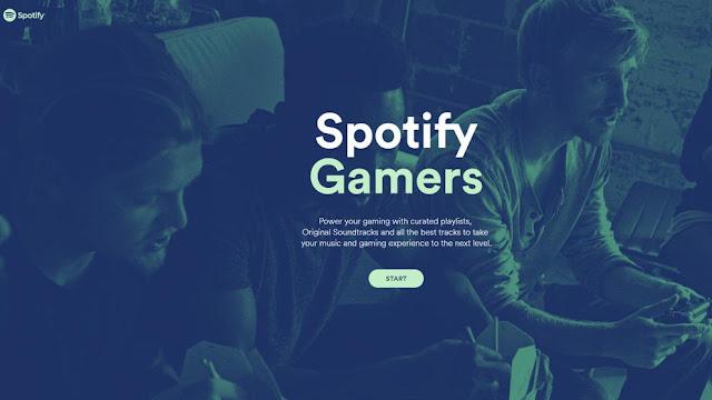 Spotify lanza Spotify Gamers