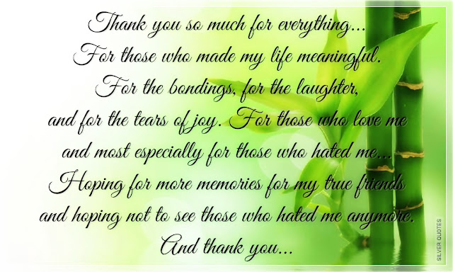 Abzules Famous Thank You Quotes