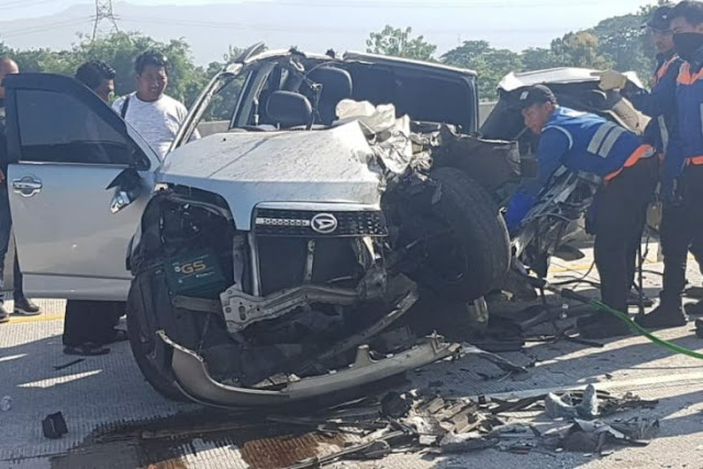 Rombongan Polres Jember Kecelakaan, Satu Polisi Meninggal