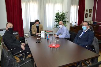 Εθιμοτυπική  Επίσκεψη του νέου  Διοικητικού Συμβουλίου της Ελληνικής Ομοσπονδίας Γούνας στον Δήμαρχο Καστοριάς