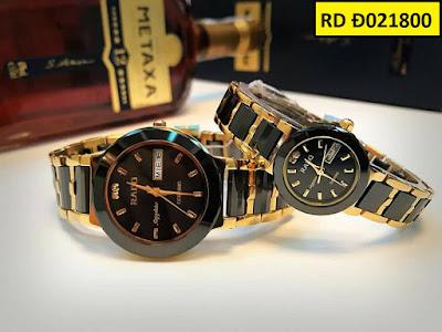 Đồng hồ cặp đôi đẹp nhất RD Đ021800
