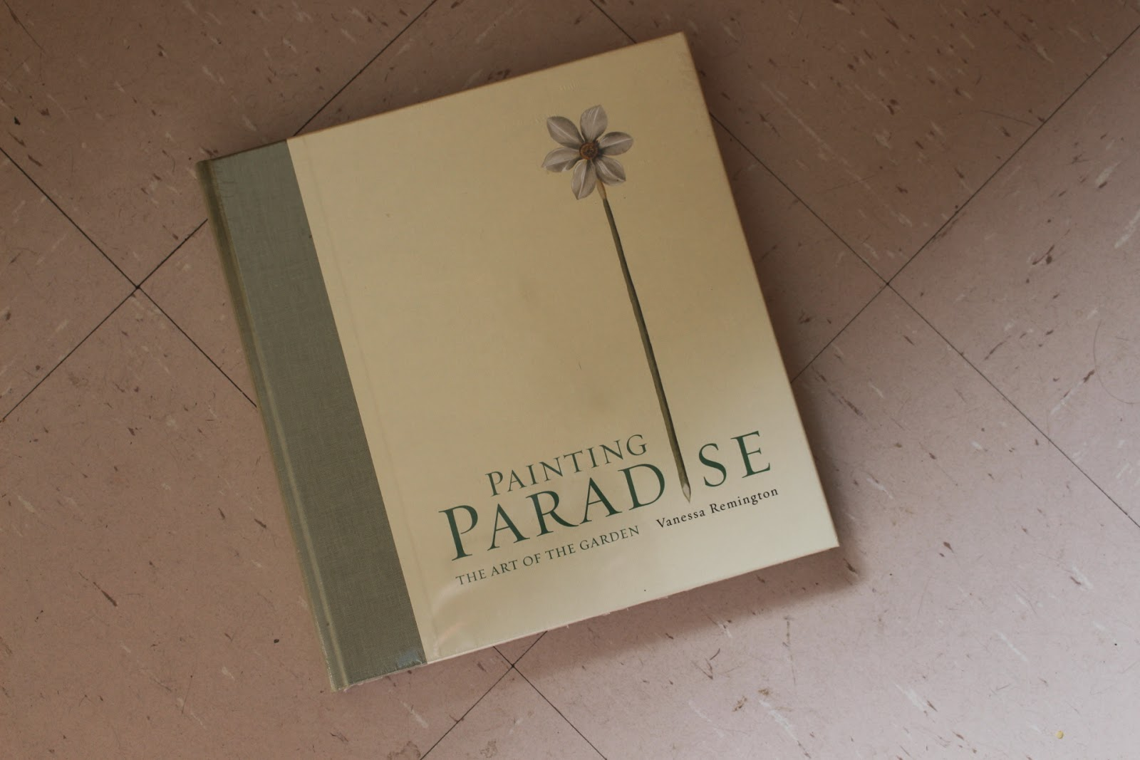 Picture of the book accompanying the Painting Paradise exhibition