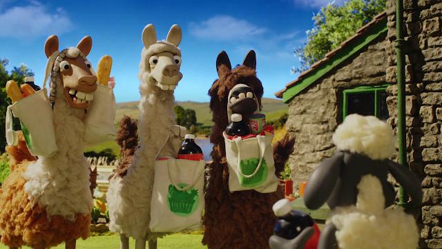 Shaun the Sheep: The Farmer's Llamas 2015 English 720p BluRay