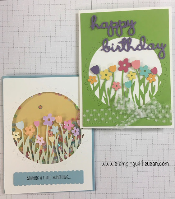 Stampin' Up!, Sending Flowers Dies, Sending You Thoughts, 2020 Sale-A-Bration, www.stampingwithsusan.com