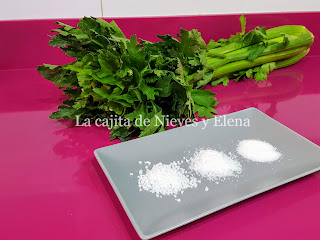 Ingredientes Sal de apio