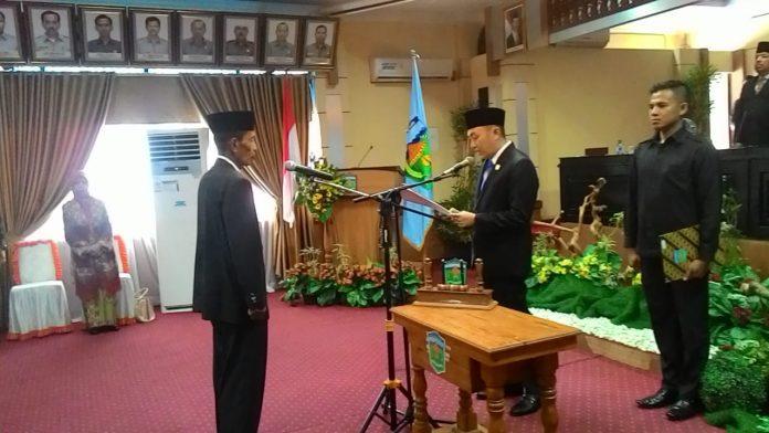 Ketua DPRD Kota Sungai Penuh lantik dewan PAW, Syaharman Gantikan Yuzarlis Rusli, Dpt
