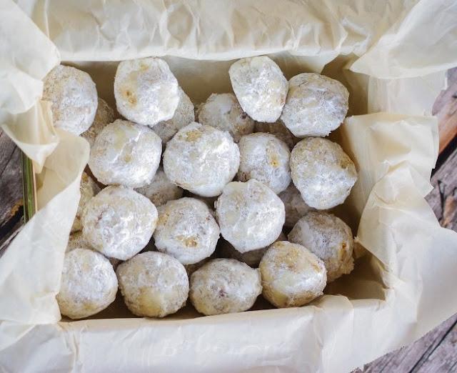 Pecan Butter Balls #desserts #cookies