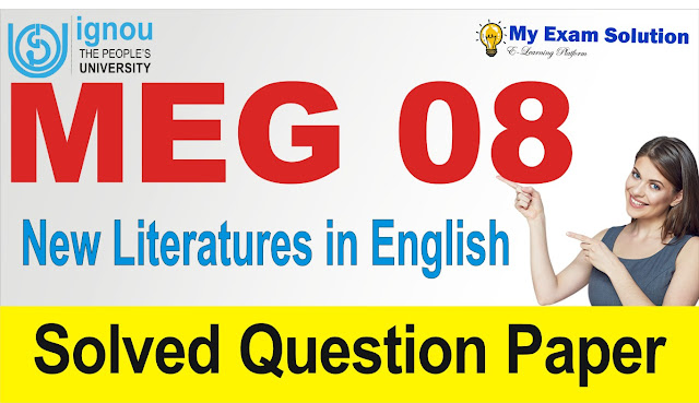 new literatures in english, meg 08, meg new literatures in english