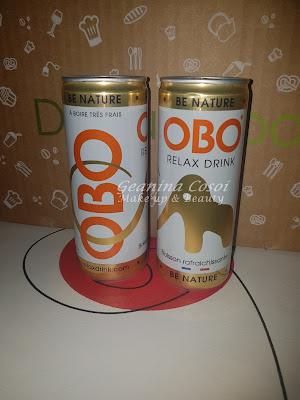 Obo bebida natural Caja Degustabox - Octubre ´16