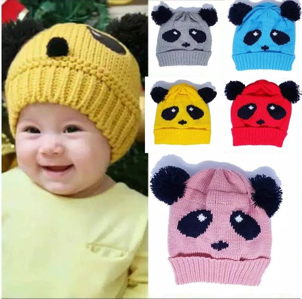Kupluk Rajut Anak Panda FA0005
