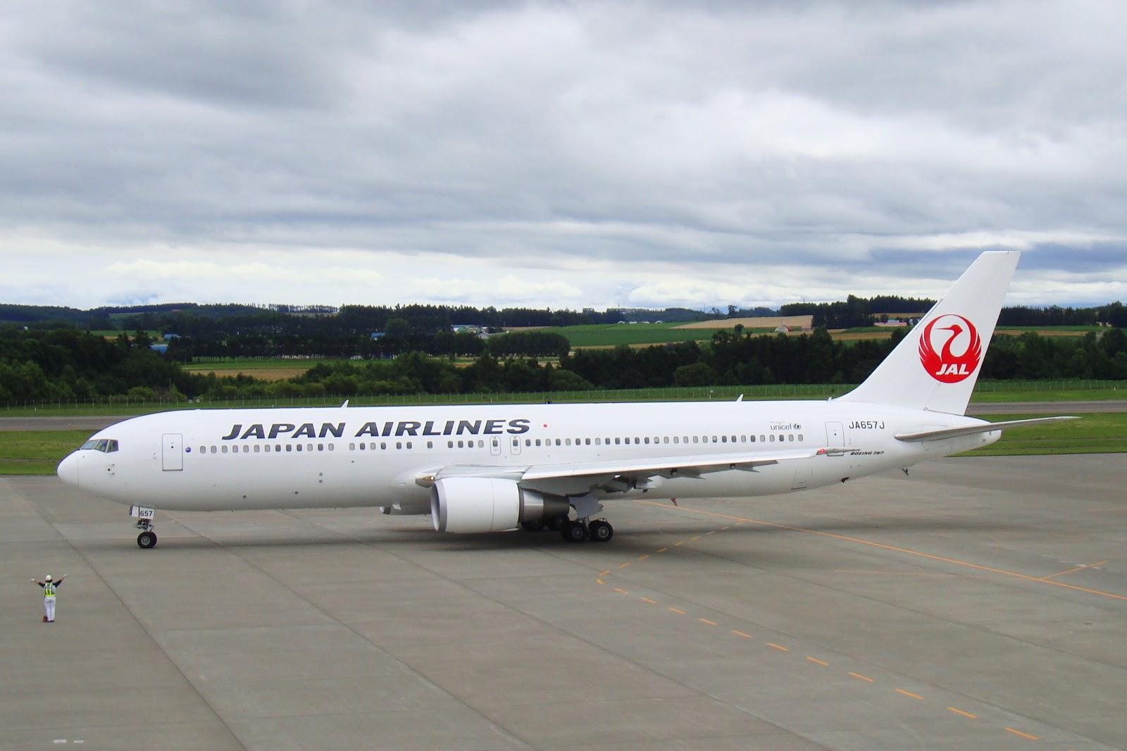 日本航空JL96: 台北松山TSA → 東京羽田HND飛行紀錄 (B767-300)