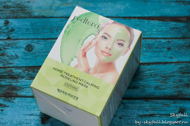 Успокаивающая Моделирующая маска / Redtera Home Treatment Calming Modeling Mask