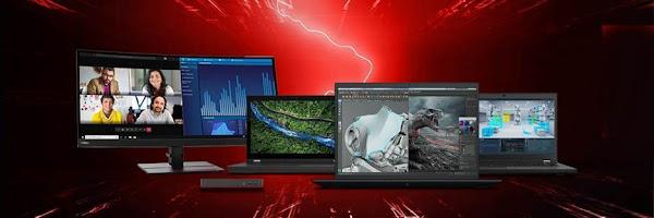 Lenovo Lança Novas Workstations Móveis com Soluções Inovadoras para Melhorar a Experiência do Utilizador e Maximizar a Produtividade