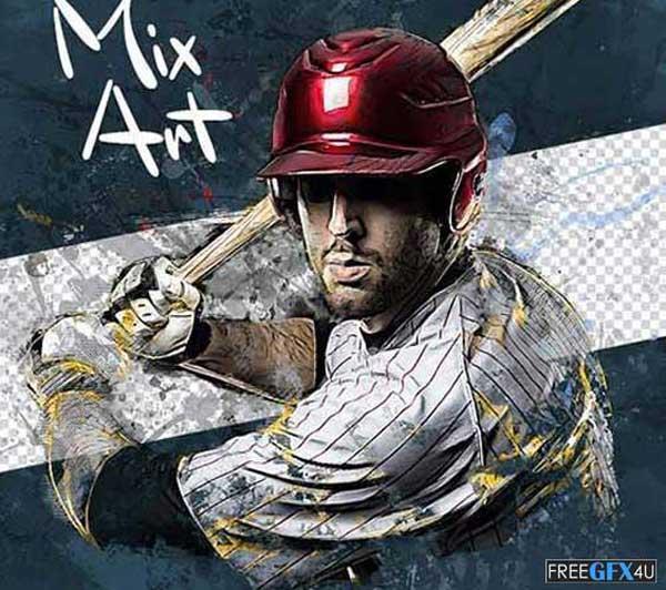 Mix Art CS6+ Photoshop Action