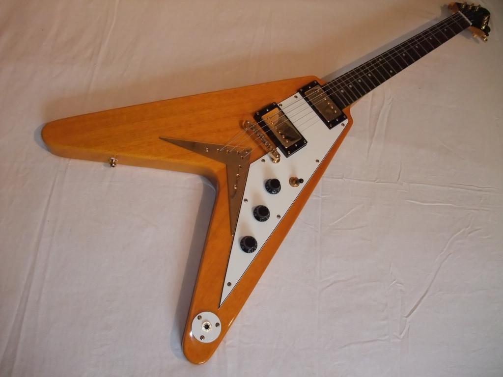 so many guitars so little talent epiphone 1 39 58 reissue korina flying v 39. Black Bedroom Furniture Sets. Home Design Ideas