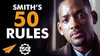 Will Smiths Top 50 Rules For Success