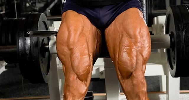 تمارين لبناء عضلة الساق ( عضلة القدم )