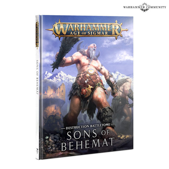 battletome Sons of Behemat